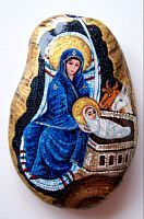Mary painted Rock
