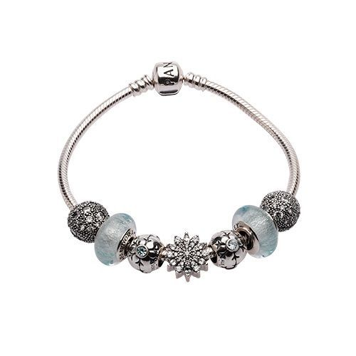 Let It Snow Starter Bracelet By Pandora Jewelry Pandorapion