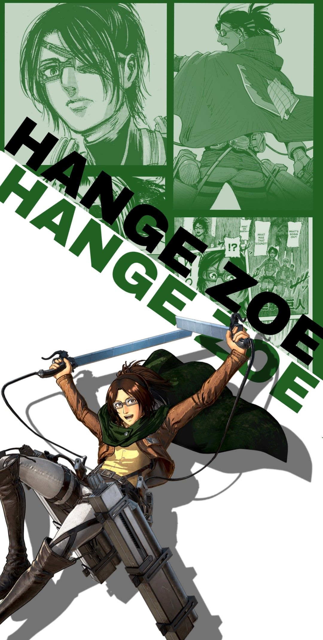 Hange Zoe Wallpaper In 2020 Attack On Titan Anime Hanji Attack On Titan Attack On Titan