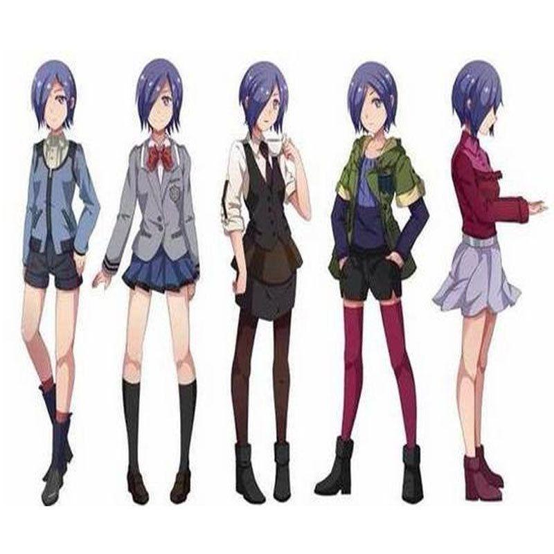 Tokyo-Ghoul-Cosplay-Costume-Props-Shoes-Kirishima-Touka-