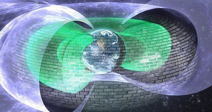 Mistério : Cientistas descobrem escudo invisível a 12.000Km acima da Terra - UFOsFacts