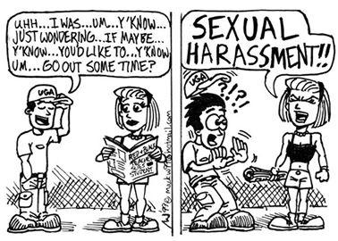 Two types of sexual harassment quid pro quo harassment