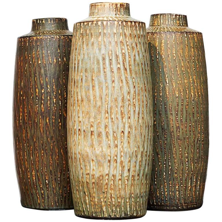 Large Vases By Gunner Nylund Rubus Vase Antique Vase Large Vase
