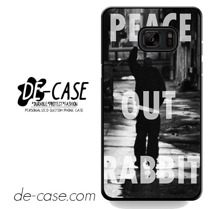 Eminem Peace Out Rabbit DEAL-3941 Samsung Phonecase Cover For Samsung Galaxy Note 7