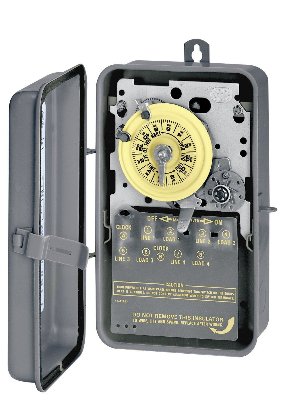Intermatic T1471br 4pst 24 Hour 125 Volt Time Switch With 3r Steel Case Want Additional Info Clic Electrical Switches Digital Timer Wireless Video Doorbell