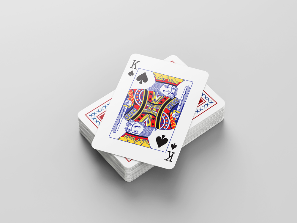 Mockup card game