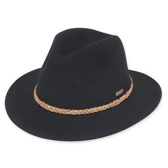 Ad1009 Visor Hats Felt Hat Wool Felt