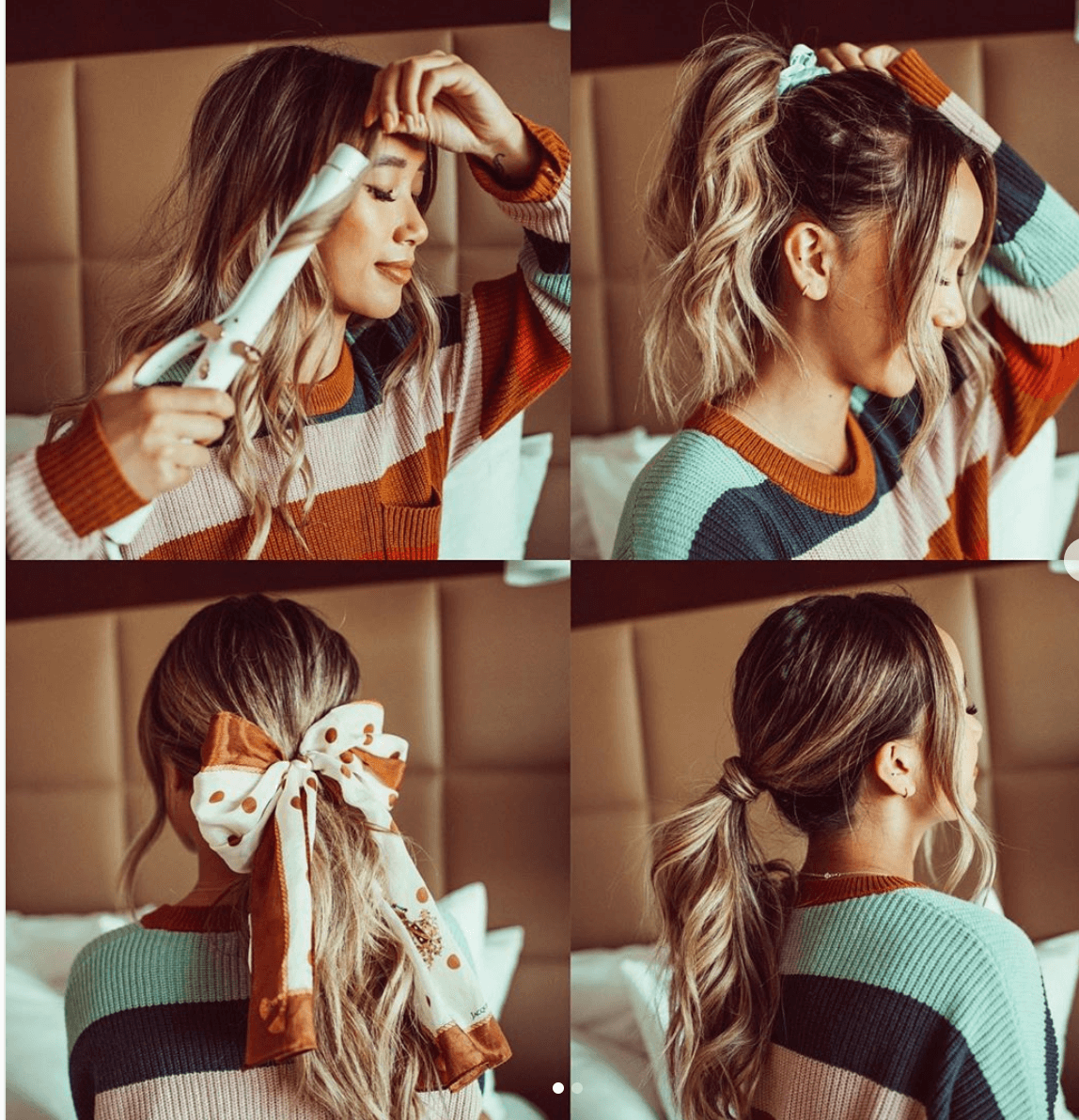 20 Beautiful Ways To Style Your Hair With A Scarf Hair Scarf Styles Hair Styles Scarf Hairstyles