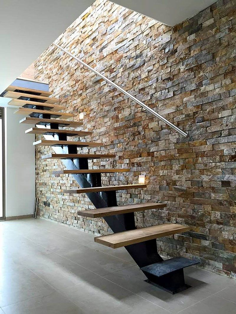 50 Clever Ways To Feature Exposed Brick Stone Walls Art | Staircase Exterior Wall Design | Commercial | Entrance Ceiling | Interior | Modern | Boundary Wall