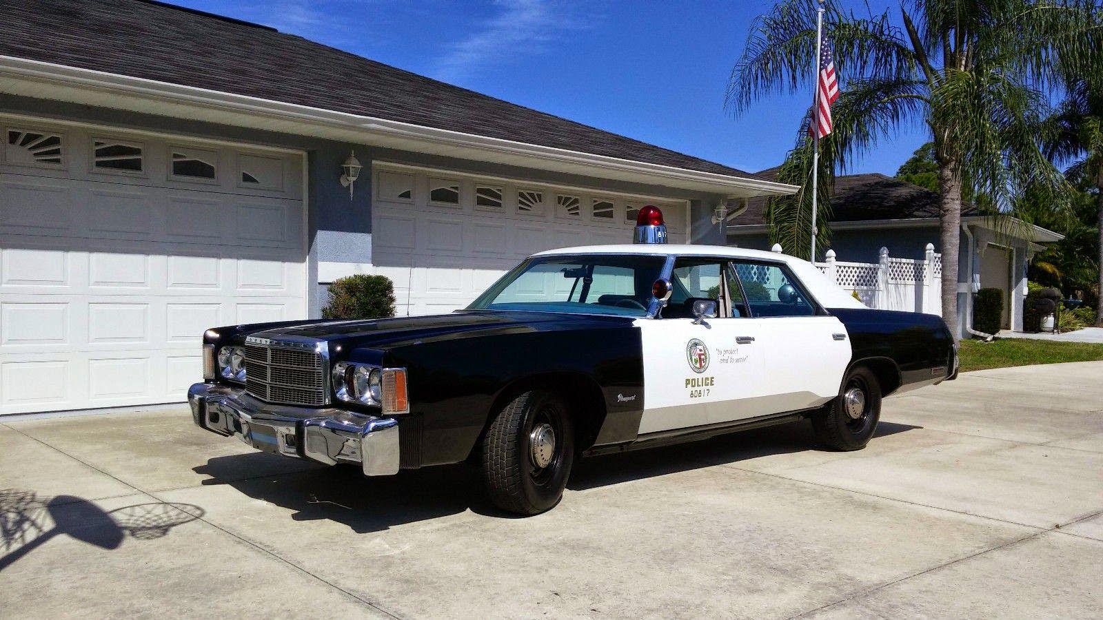 1978 Chrysler Newport 4 Door Hardtop Police Car Chrysler Newport Police Cars American Classic Cars