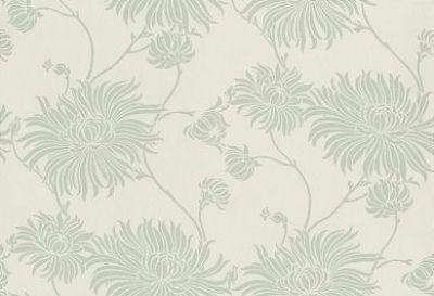 Lampshade Handmade with Laura Ashley Kimono Eau De Nil Floral Wallpaper FREE P/&P