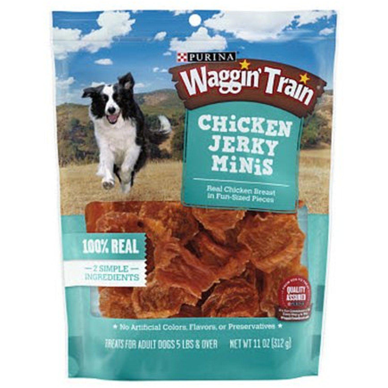 Purina waggin train chicken jerky minis dog treats 11 oz pouch purina waggin train chicken jerky minis dog treats 11 oz pouch publicscrutiny Image collections