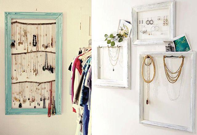 i spy diy diy rangement pinterest rangement porte collier et rangement bijoux. Black Bedroom Furniture Sets. Home Design Ideas