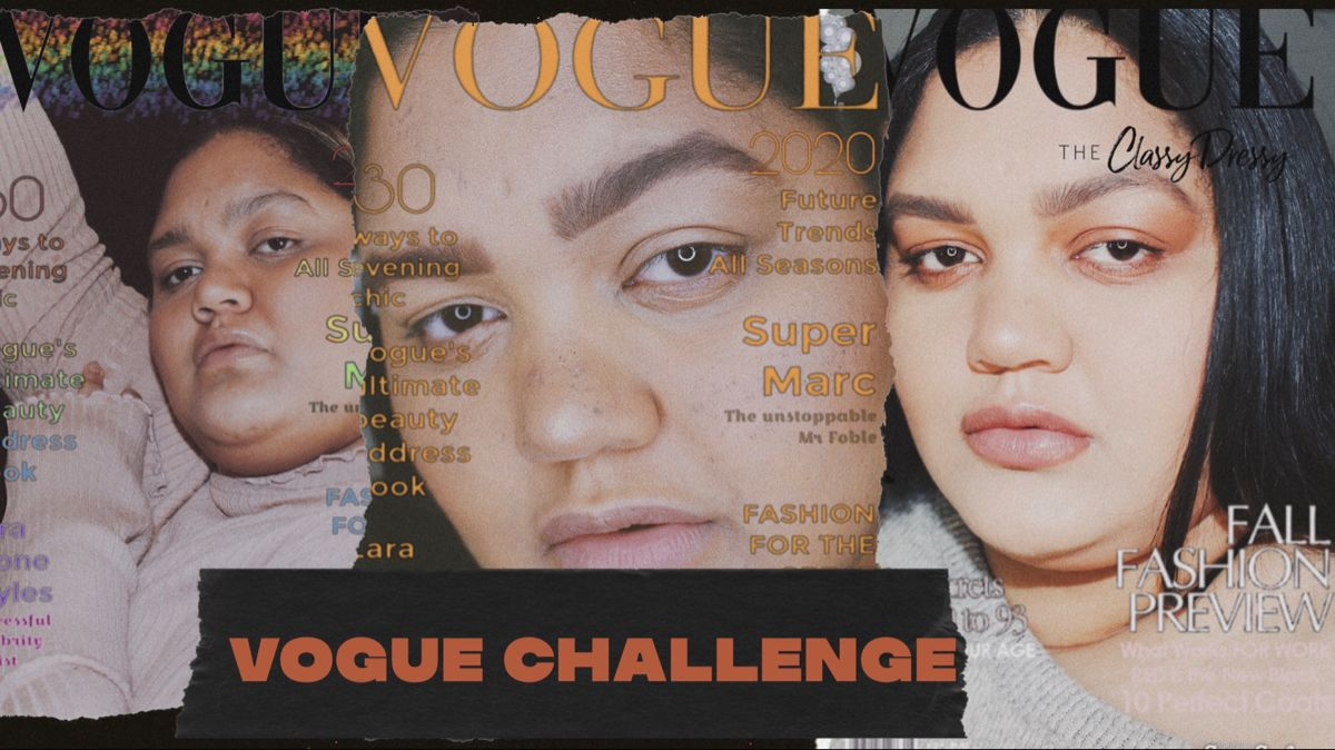 How To Do The Vogue Challenge Tiktok Youtube Challenges Vogue Youtube