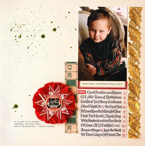 by Briana Johnson - from the November Project Kit