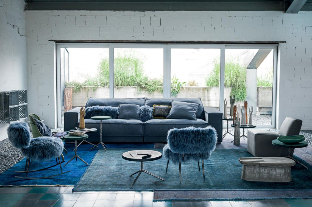 Nepal Small Armchair Blue sofas living room, Blue sofa