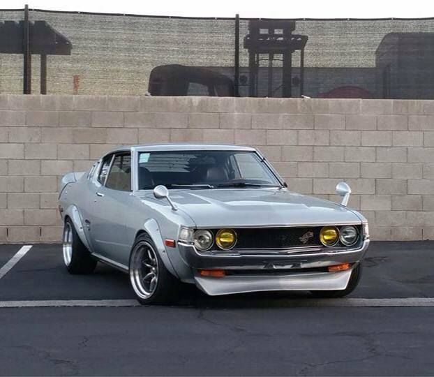 Toyota Celica Coupe Hatchback To: Toyota Celica GT 1976 My First Car Only Gun Metal Grey Lt3 T