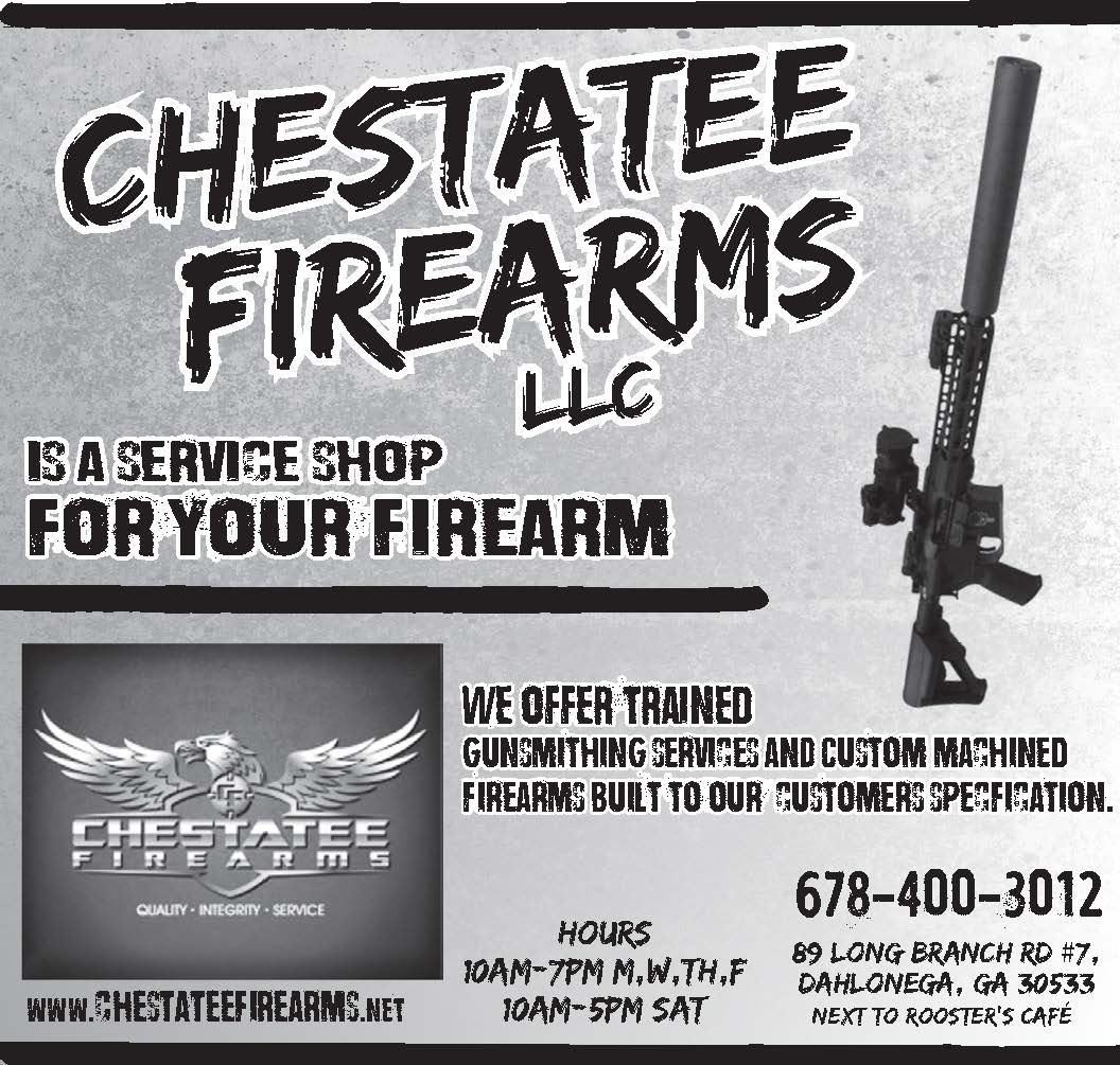 WE OFFER TRAINED GUNSMITHING SERVICES AND CUSTOM MACHINED