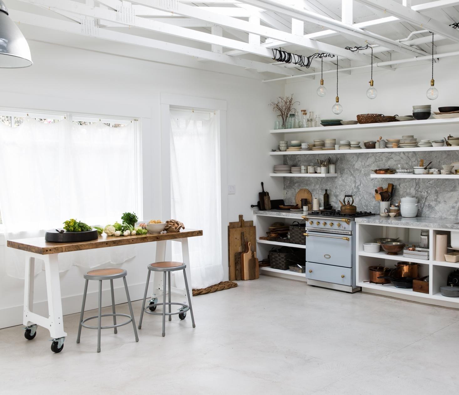 Food photographer\'s backyard kitchen and studio in Berkeley, CA ...