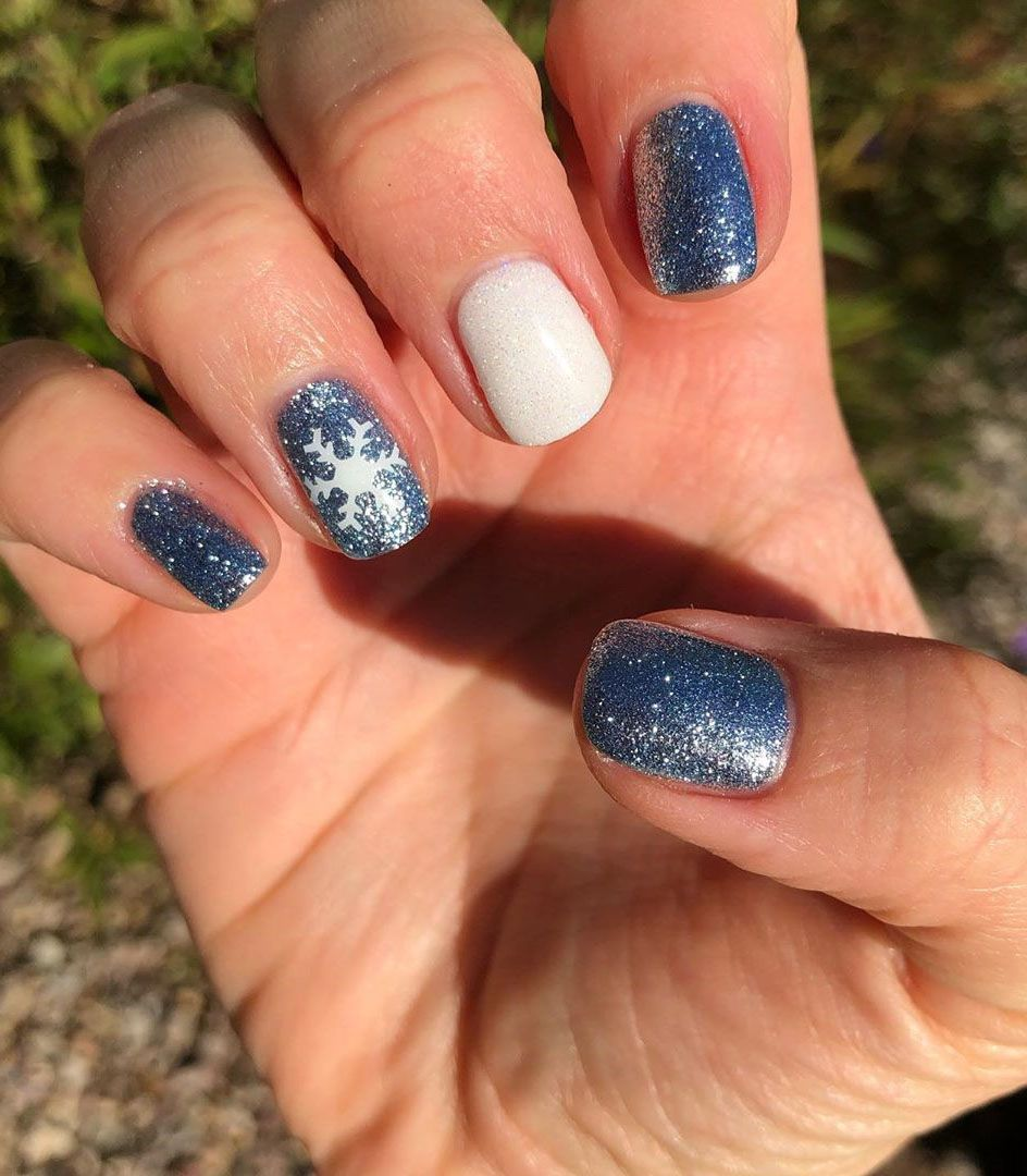 100 Easy Acrylic Winter Nails And Color Ideas 2019 Winter Nails