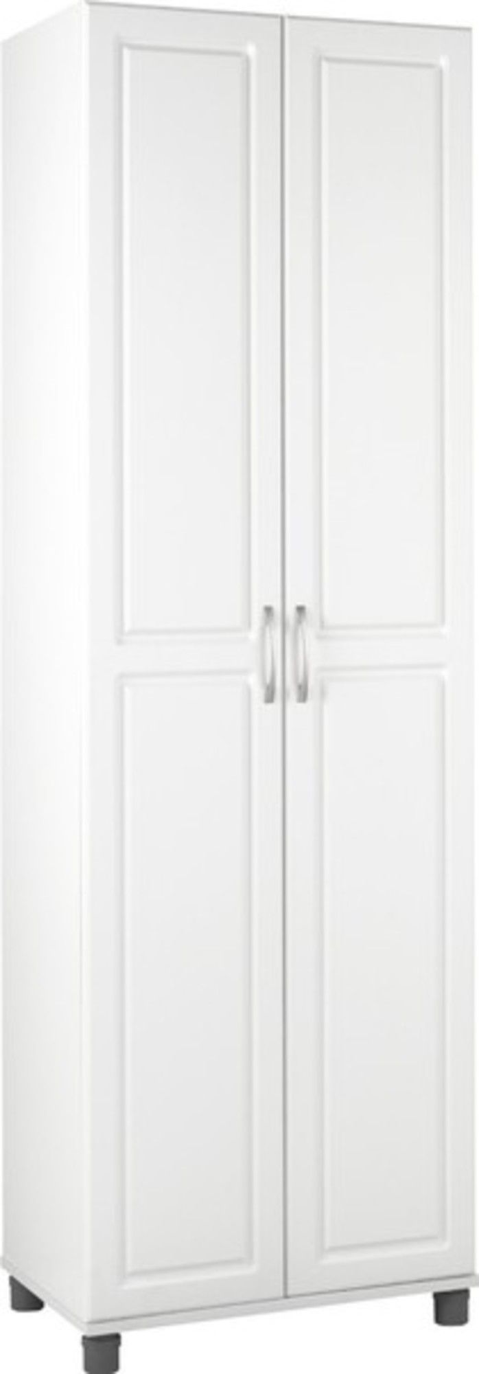 Affordable Free Standing Broom Closet Cabinet For Kitchen Or Garage   Best  Reviews