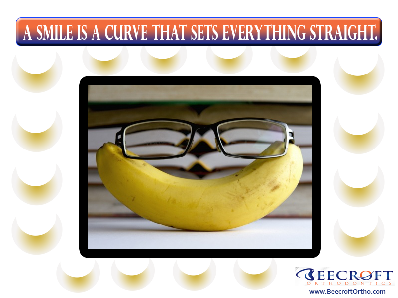 Smile Quote No. 20: A Smile is a Curve that Sets Everything Straight || Beecroft Orthodontics, 10472 Georgetown Dr Fredericksburg , VirginiaPhone: 540-898-2200 #smilequote #orthodontist #beecroftorthodontics