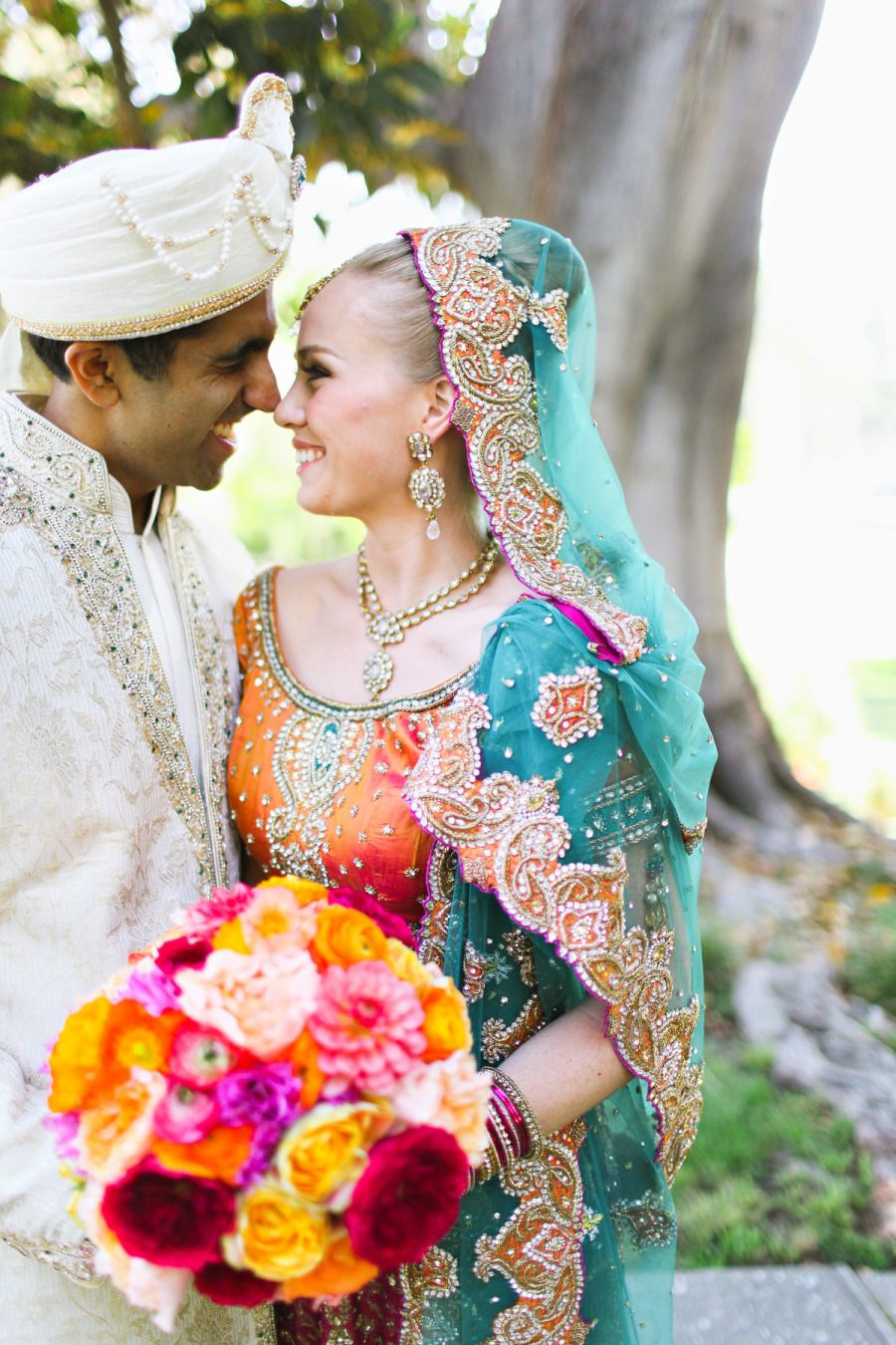 Cultural Wedding at Ambassador Mansion & Gardens (With