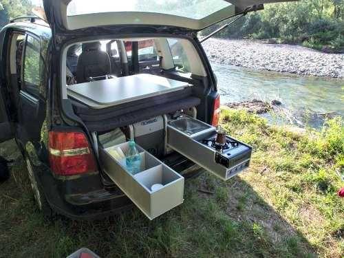 Pin By Outdoor Camping Gear On Camper Camping Box Van Camping Minivan Camping