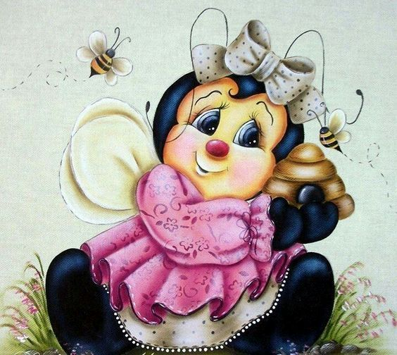 Explore Bees Tole Painting And More
