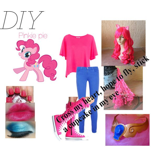 My Little Pony Pinkie Pie Halloween costume and play-set Canterlot Pride! Equestria Girls Inspiration | Bree is Three | Pinterest | Maya Cumple y Fiestas  sc 1 st  Pinterest & My Little Pony: Pinkie Pie Halloween costume and play-set Canterlot ...