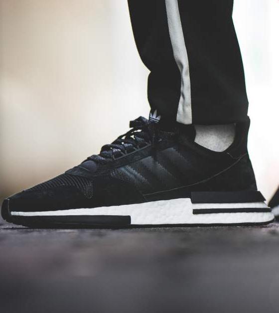 adidas ZX 500 RM (black white)   43einhalb Sneaker Store