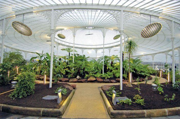 Kibble Palace At Glasgowu0027s Botanic Gardens