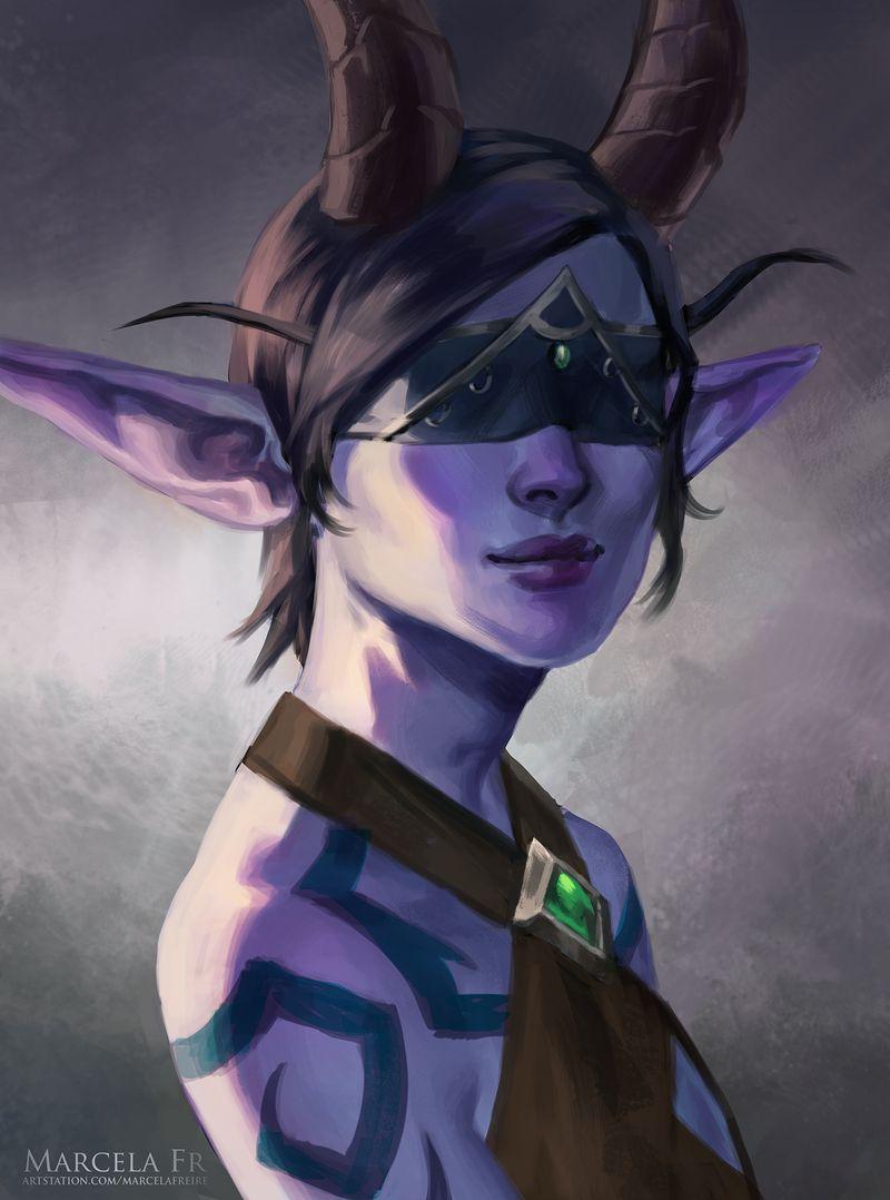 Commission By Marcelafreire On Deviantart World Of Warcraft Characters Warcraft Art World Of Warcraft