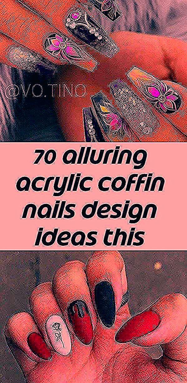 70 verführerische Acryl-Sargnägel Design-Ideen in diesem Sommer – Seite 28 von 71 – Fashion Lifestyle Blog 44 wirklich kreative rote Nagelkunst 2019 The 20 Trend …