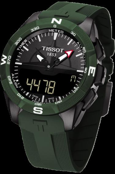 Tissot T Touch Expert Solar Ii T1104204705100 Tissot T Touch Tissot Watches For Men