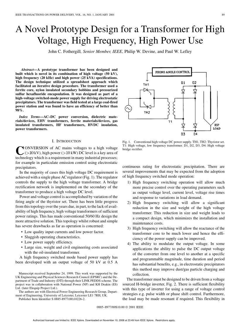 High Voltage Output Transformer Circuit Best Of In 2020 High Voltage Transformers Circuit