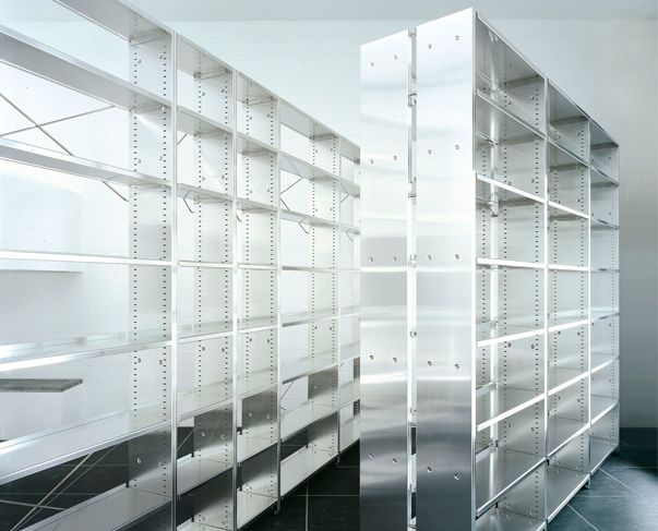 Bibliothek-Regal Regale Produkte Möbel-Kollektion Lehni AG - designer mobel bucherregal
