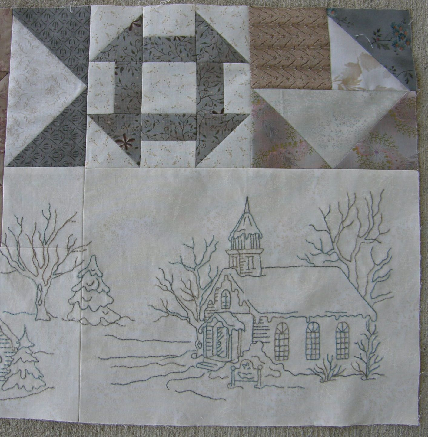❤ =^..^= ❤ Michelle's Quilts & Stuff: Snow Days...Block 3 ... : snow quilts - Adamdwight.com