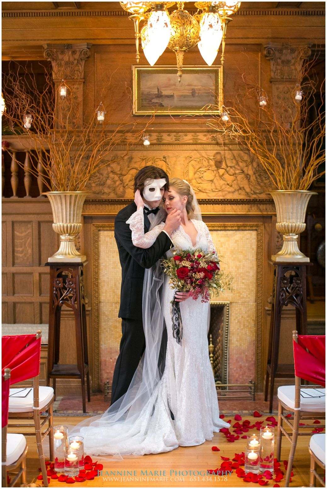 Phantom of the Opera, Van Dusen Mansion, Ask for the Moon Events, Twin Cities wedding vendors, Minneapolis wedding photographer, Jeannine Marie Photography @jeanninemphoto