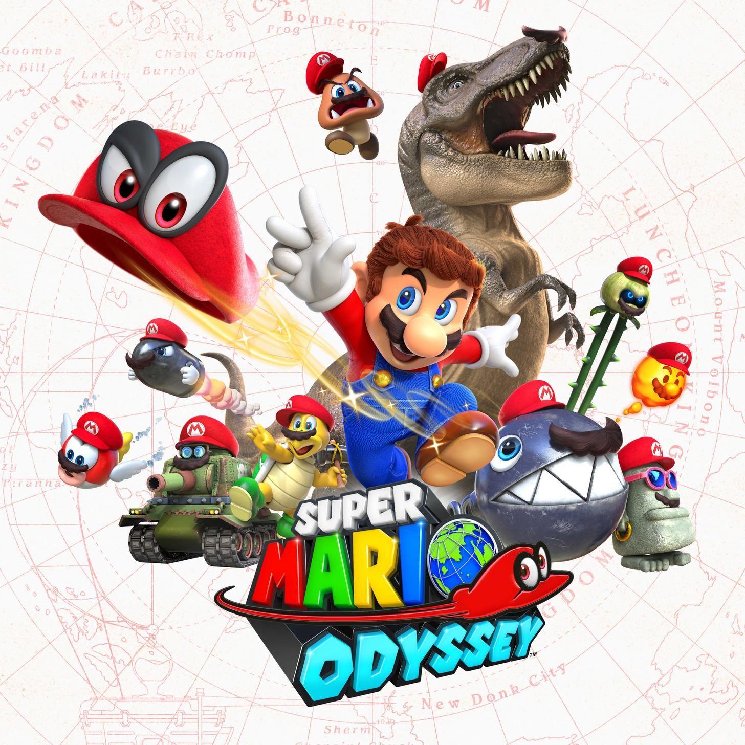 This is Super Mario Odyssey! | Nintendo: The True Factory of Dreams ...
