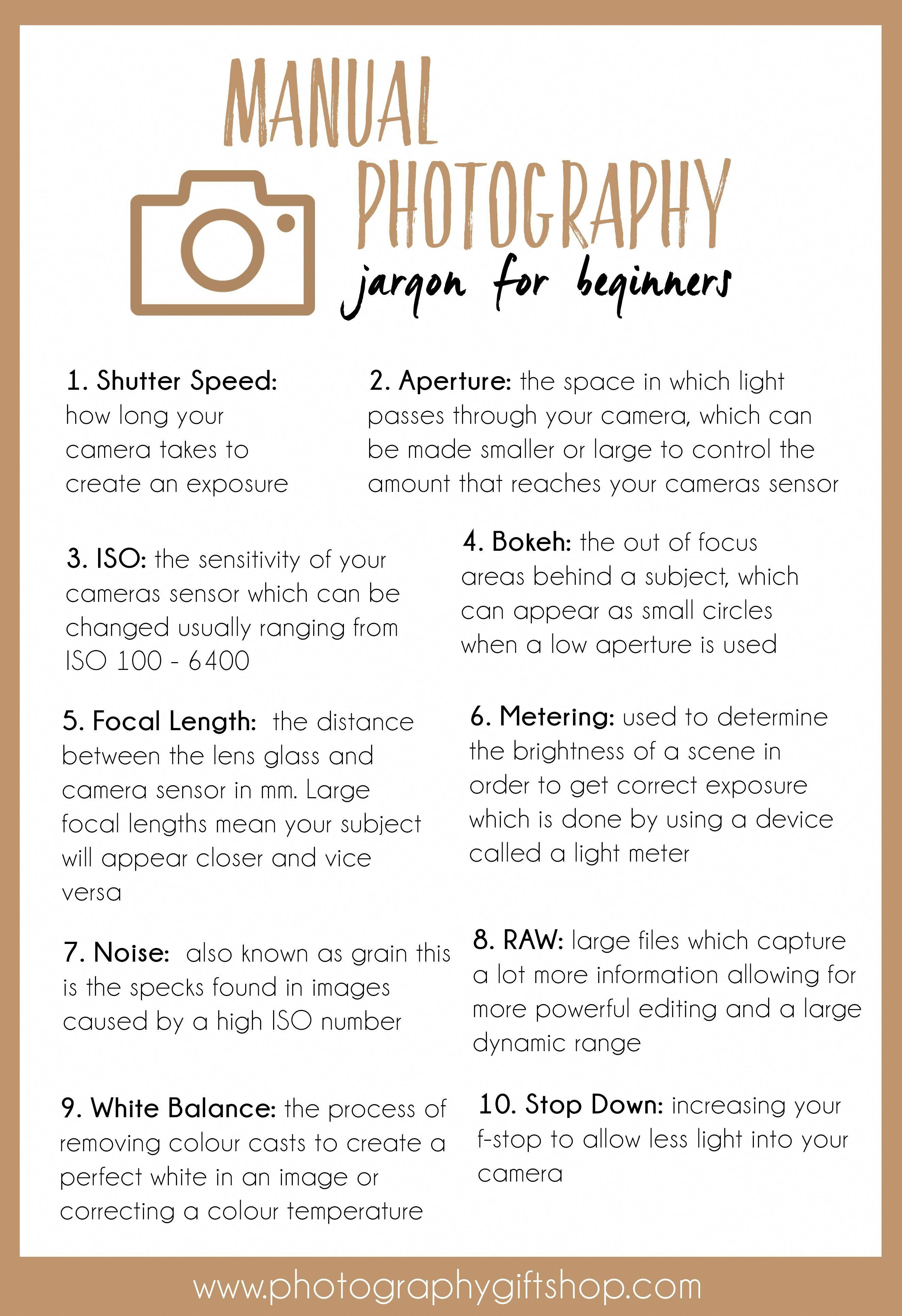 Crack the code of manual photography jargon and definitions for beginner photographers photographytipsforbeginners