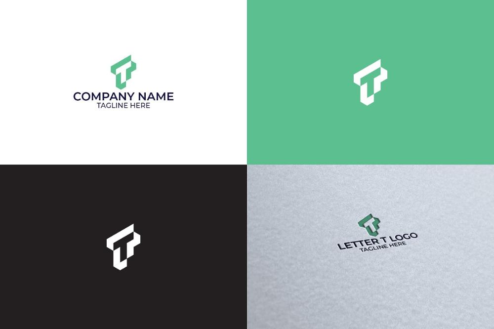 Letter T Logo Design Logo Design Letter Logo Design Letter T