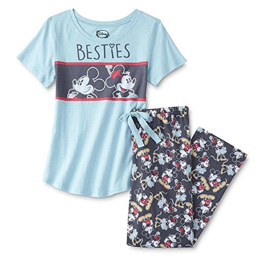 077cd392ce Disney Briefly Stated Mickey and Minnie Mouse Juniors Plus Pajamas ...