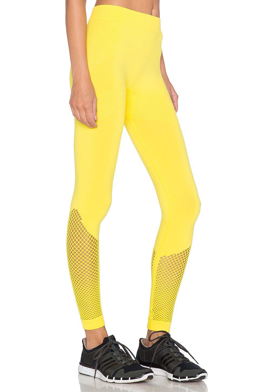 adidas leggings yellow