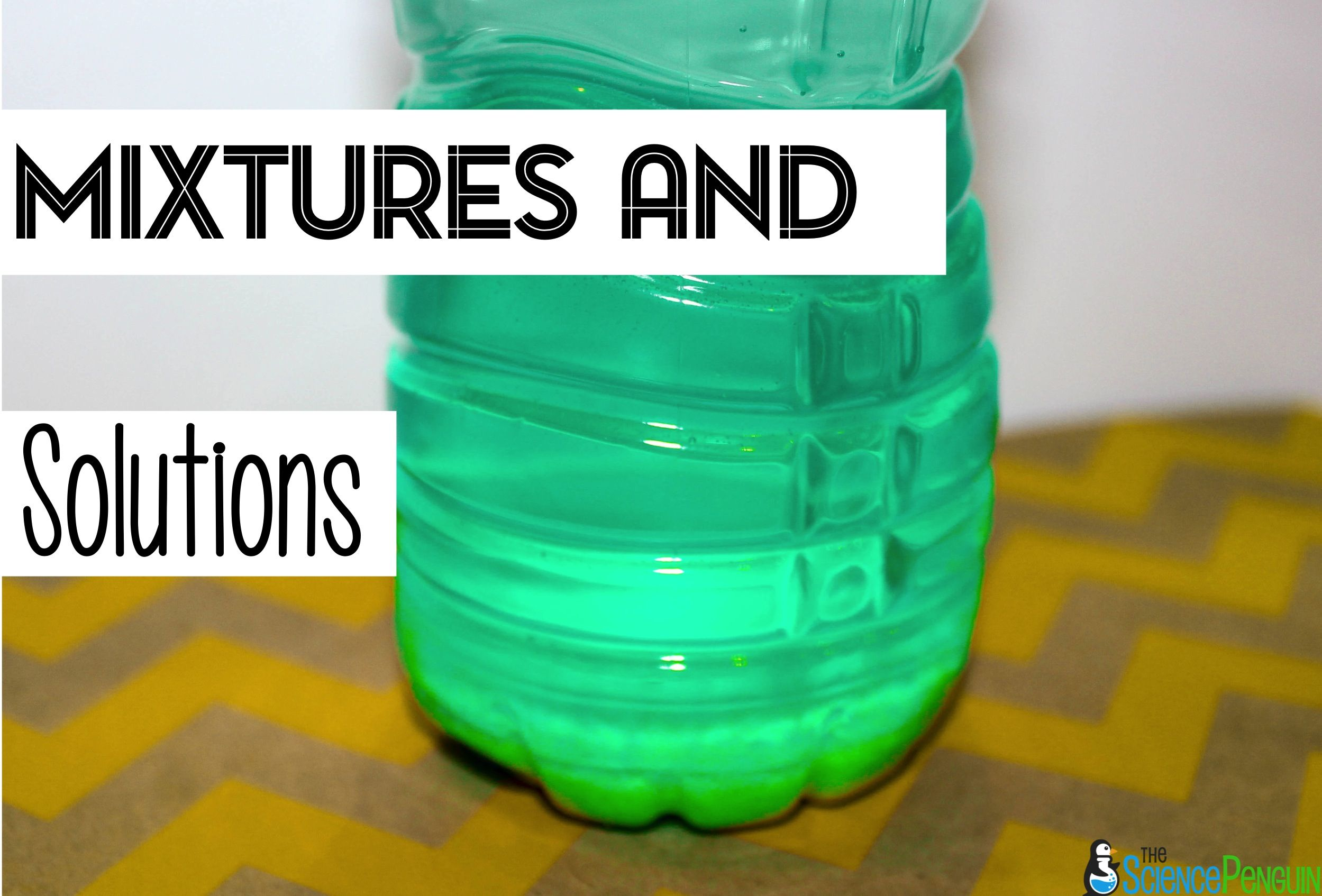 Mixtures and Solutions Pinterest Board | Mixtures and ...