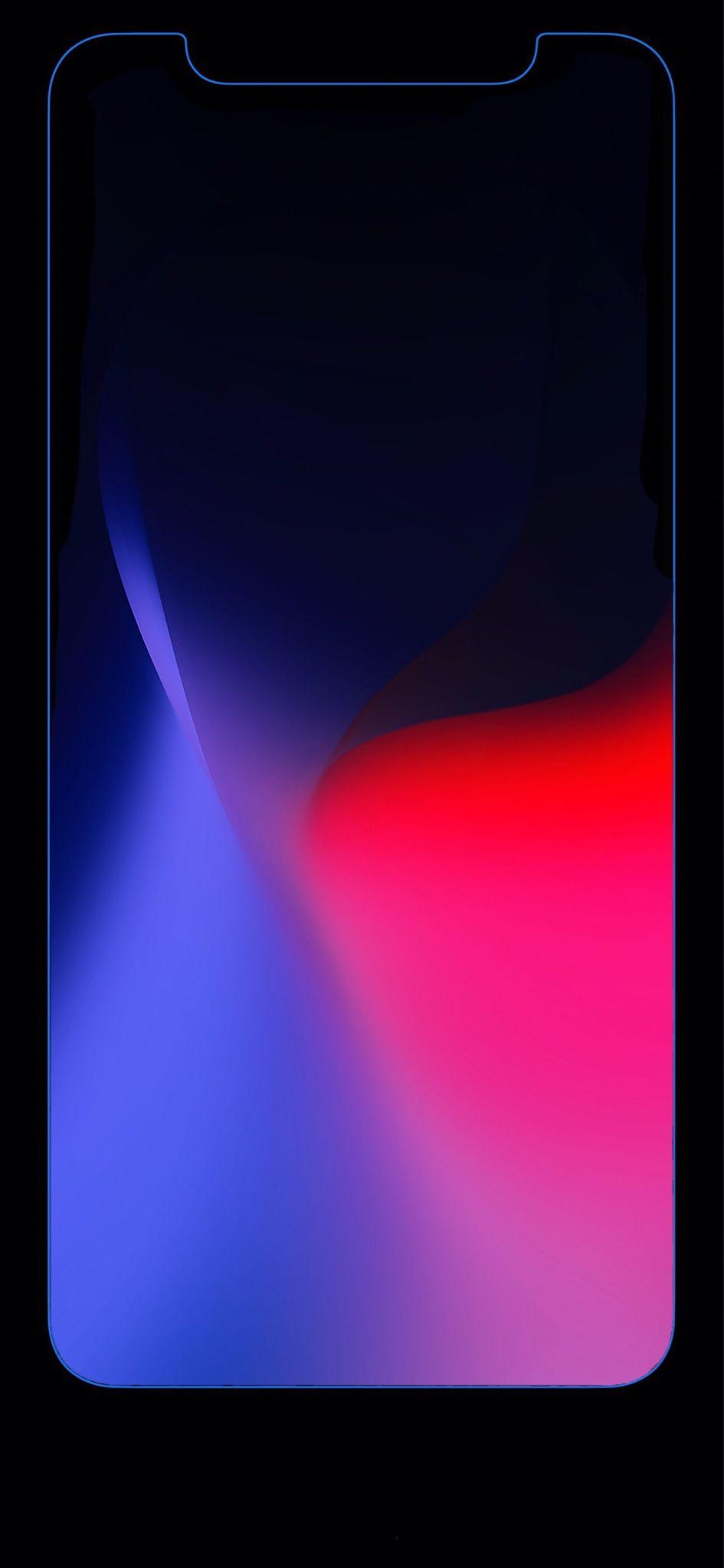 Gentle Black Wallpaper For Iphone X Saving Battery Black Wallpaper Apple Wallpaper Wallpaper