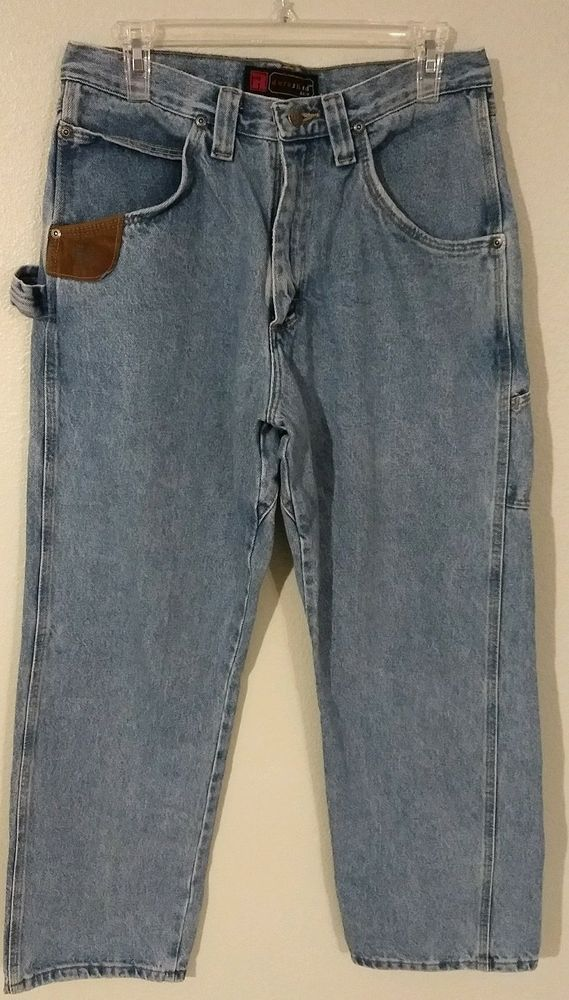 764103c2 Men's RIGGS by Workwear by Wrangler Denim Carpenter Jeans Size 33 x 30  #fashion #clothing #shoes #accessories #mensclothing #jeans (ebay link)