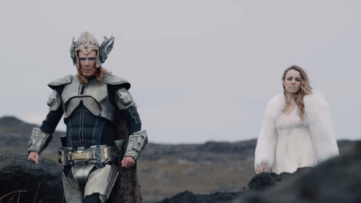 Will Ferrell and Rachel McAdams are wannabe Icelandic pop