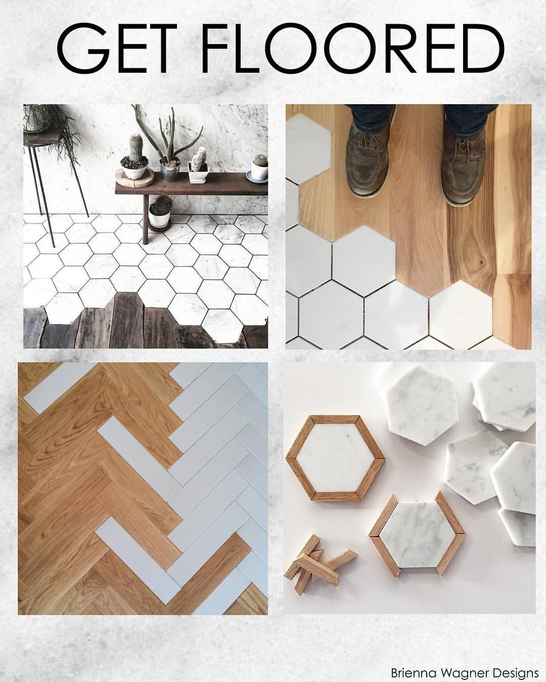 A trend I think in the right materials could be so much fun! Love the idea of transitioning flooring more creatively. Thoughts?! Love? Hate?