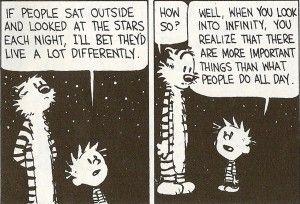 So existential.